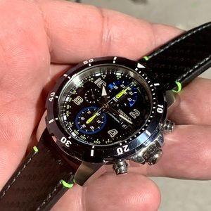 Seiko Jimmie Johnson Chronograph Black Extra NATO